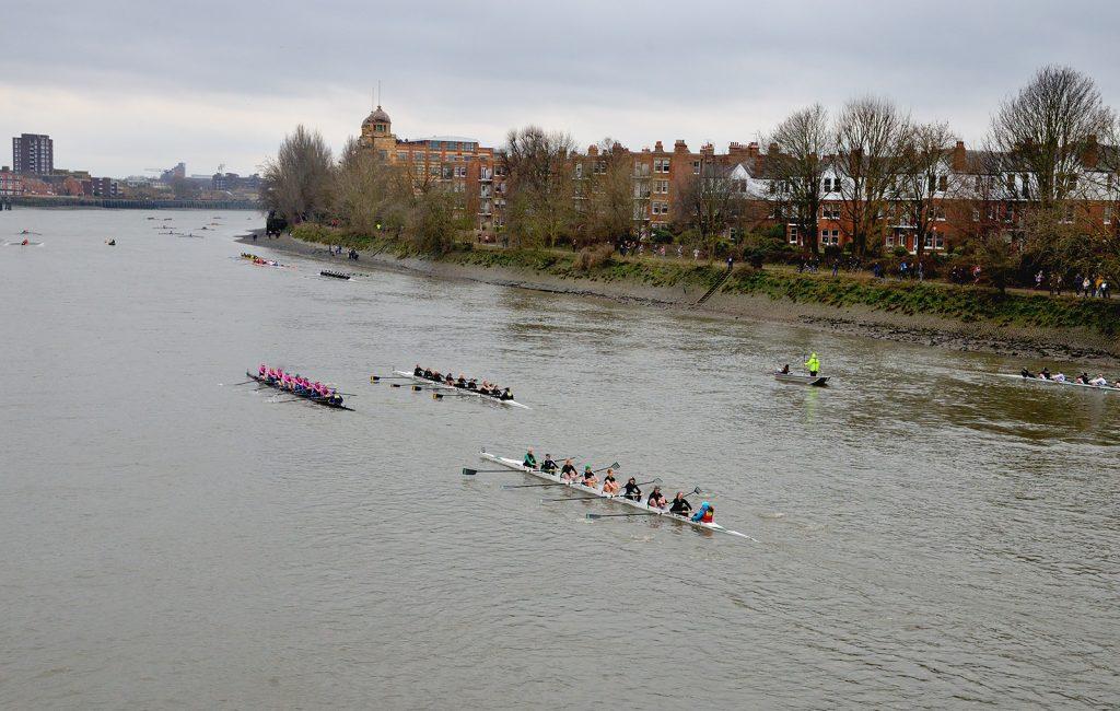 Women's 8 Head of River race