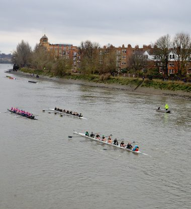 Women's 8 Head of River race