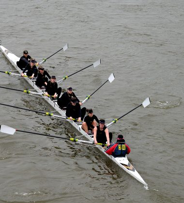 Women's 8 Head of the River race