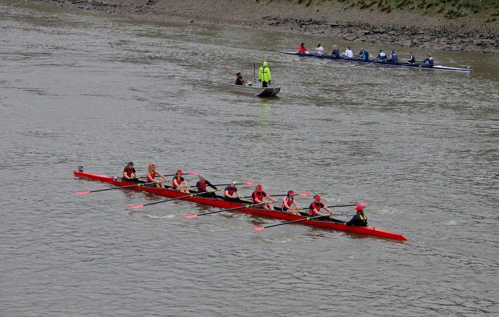 Women's 8 head of the river race