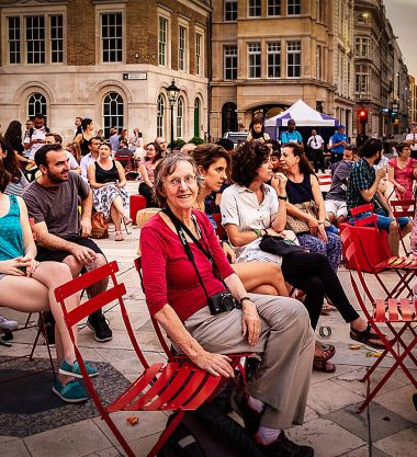 UPSWING women festival at Guildhall Yard
