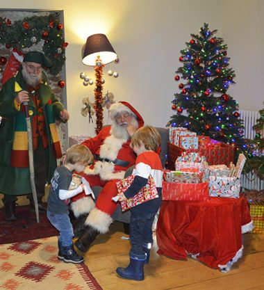 Meet Father Christmas in Lauderdale House's Grotto