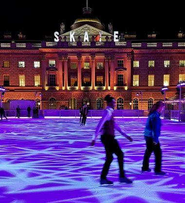 Christmas Ice Skating at Somerset House