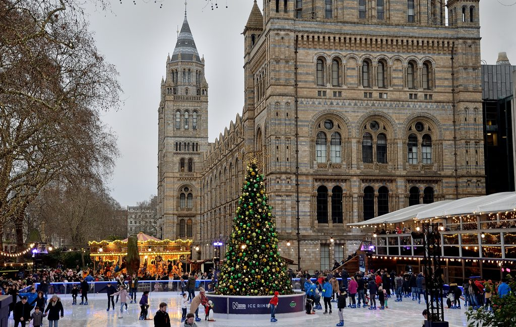 Christmas at the Natural History Museum